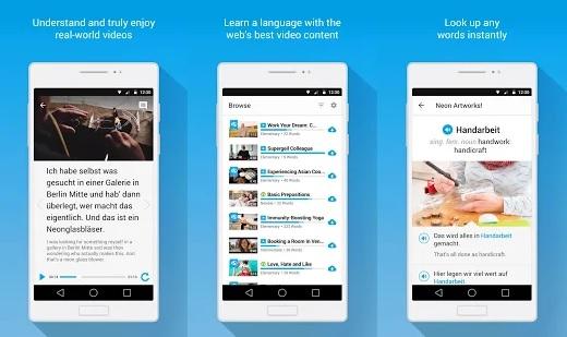 Fluentu - приложение для изучения английского языка