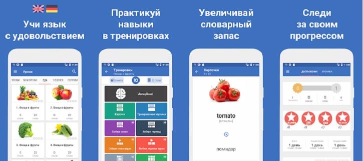 Words - приложение для изучения английского языка